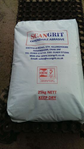 40 x 25Kg Bags of Iron Silicate Grade 2 (Inc UK Mainland Pallet Delivery)